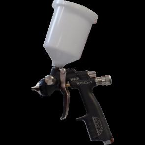 R150-T : HVLP 1.0MM BLACK MINI SPRAY GUN